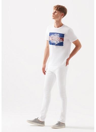 Mavi James  Comfort Jean Pantolon Beyaz